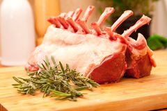 French dressed rack of lamb Stock Photography