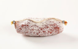 French dry cured sausage Royalty Free Stock Images