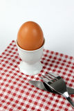 French egg à la coque Royalty Free Stock Photo