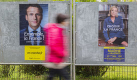French Election - The Second Round Stock Photography