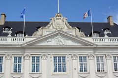 French Embassy Royalty Free Stock Photography