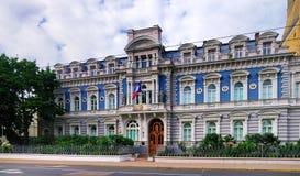 French Embassy, Riga Stock Photos