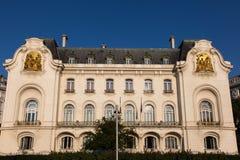 French Embassy in Vienna. French Embassy building in Schwarzenberg Platz, Vienna, Austria Stock Photos