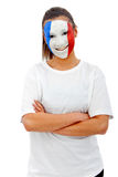 French  fan Royalty Free Stock Images