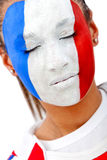 French  fan Stock Image