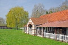 The french farm Stock Photos