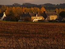 FRENCH FARM HOUSES Stock Photography