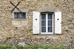 French Farmhouse Window Stock Photography