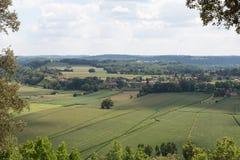 French Farmland Royalty Free Stock Image