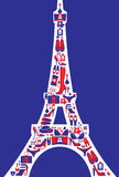 French fashion stock illustration