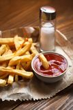 French Fast Food Fast Food. Fast food-potatoes-chips-snacks Stock Photo