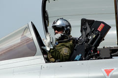 French fighter pilot Royalty Free Stock Photography