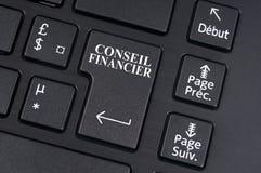 French financial advisor online stock image