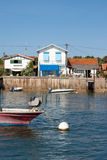 French fisherman village Royalty Free Stock Images