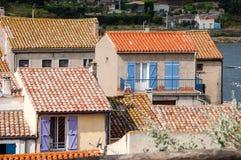 French fishermen village Royalty Free Stock Photo