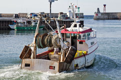 French fishng trawler Stock Photography