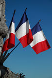 The French Flag Royalty Free Stock Photos