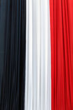 French flag. Triple colored French national flag Royalty Free Stock Photos