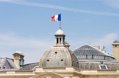 French flag Royalty Free Stock Photos