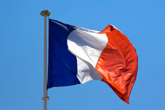 French flag Royalty Free Stock Photography
