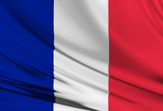 French flag Stock Image