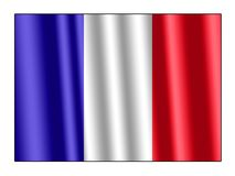 French flag. French national flag for design Royalty Free Stock Image