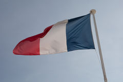 The French flag Stock Photos