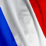 French Flag Closeup Royalty Free Stock Image