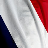 French Flag Closeup Stock Image