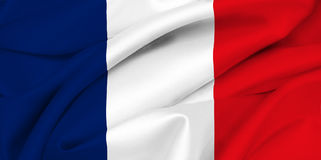 French Flag - France Royalty Free Stock Images