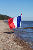 French flag. Royalty Free Stock Photo