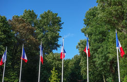 French Flag of France Royalty Free Stock Images