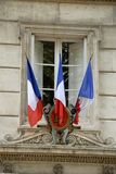 French flags Royalty Free Stock Photo