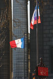 French Flags Royalty Free Stock Images
