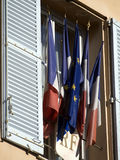 French Flags Stock Photography