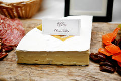 French food buffet with brie cheese Stock Photography