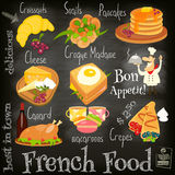 French Food Menu Stock Images