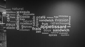 French food word cloud