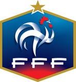 French football federation logo Stock Photos