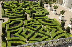 French formal garden Stock Photo
