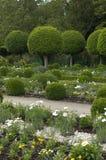 French formal garden Stock Photos