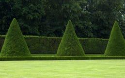 French formal garden Royalty Free Stock Photos