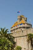 French fortress Royalty Free Stock Photo