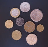 French Franc coin Stock Image