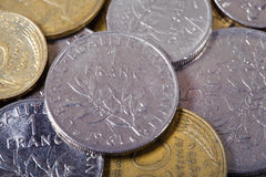 French Francs Stock Images