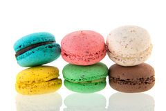 French fresh Macaroons Stock Photo