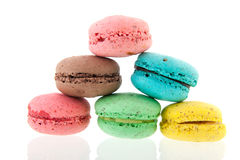 French fresh Macaroons Royalty Free Stock Photography