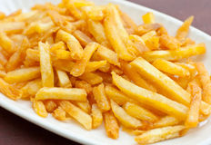 French fried. On the table snack for every body Royalty Free Stock Image