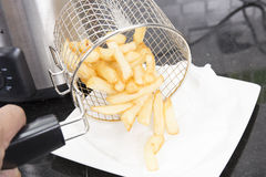 French Fried in the basket Royalty Free Stock Images