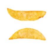 French fried potato slice isolated Royalty Free Stock Image